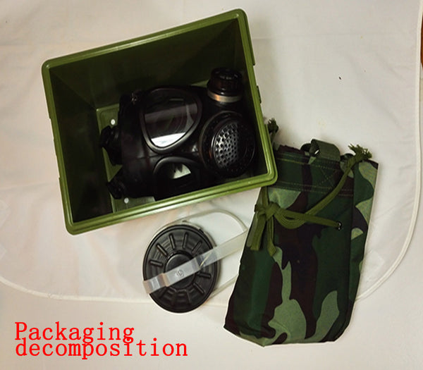FMJ05 military gas mask China 87 type gas masks against military industry research respirator mask Professional CS Survival Mask