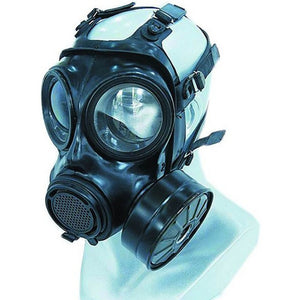 Military Police Gas Masks Against Toxic Gases and Particulate Aerosol from the influent air except carbon monoxide MFJ08