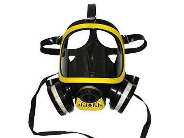 SQY-FF05 Military and Police Style Full Face Gas Mask With Double Filter Training Mask