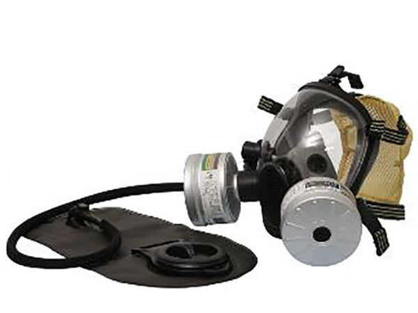 SQY-FF08 Military and Police Style Full Face Gas Mask With Double Filter Training Mask