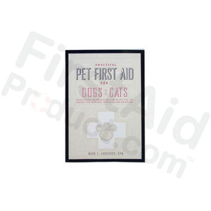 Practical Pet First Aid for Dogs & Cats - Book
