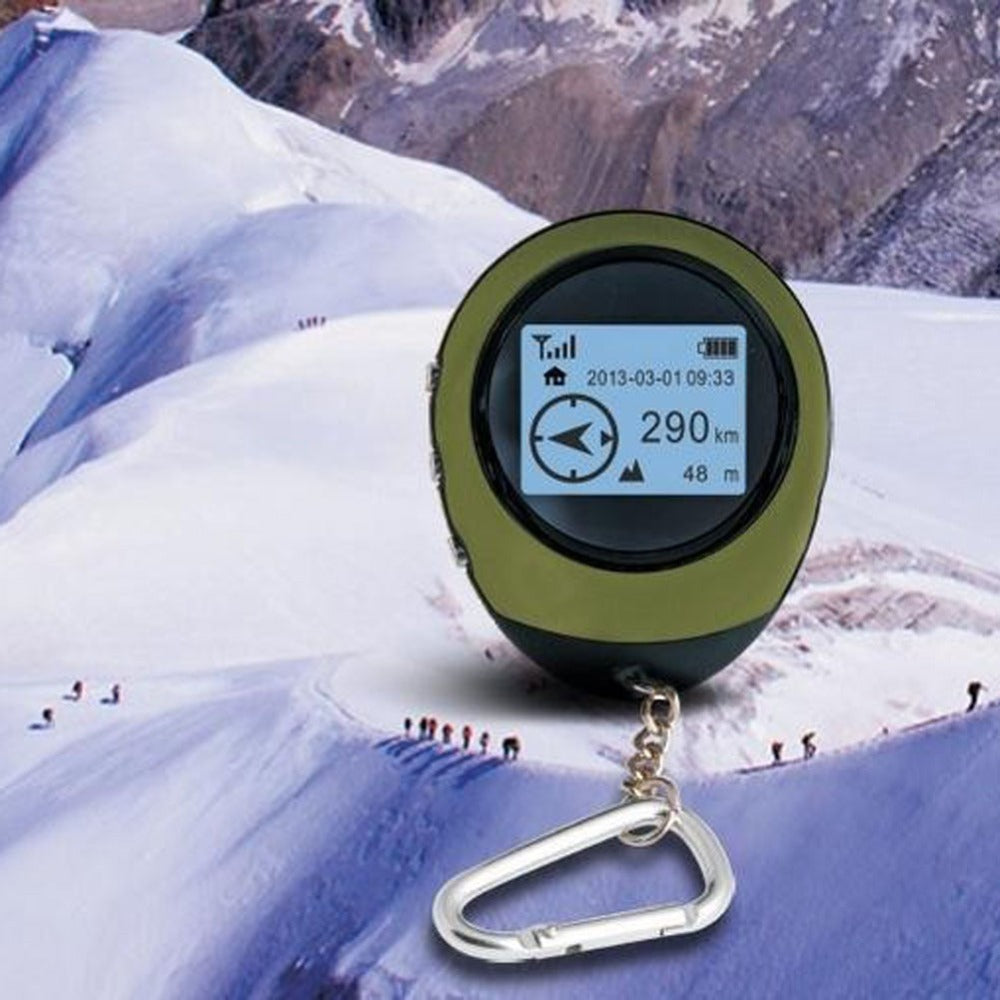 Hot Sales Handheld Mini GPS Navigation  Location Tracker with Compass For Outdoor Travel Adventure Climbing