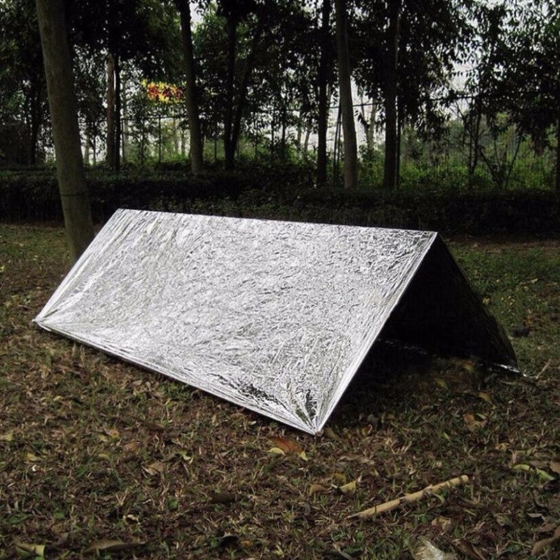Emergency Tent Shelter Tube Men Waterproof Insulation Blanket For Camping DIY EDC Tool First Aid Survival Tent Outdoor Equipment