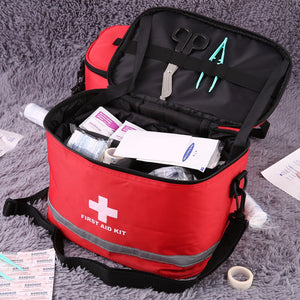 BK-B14 122pcs/pack Safe Outdoor Wilderness Survival Travel First Aid Kit Camping Hiking Medical Emergency Treatment Pack
