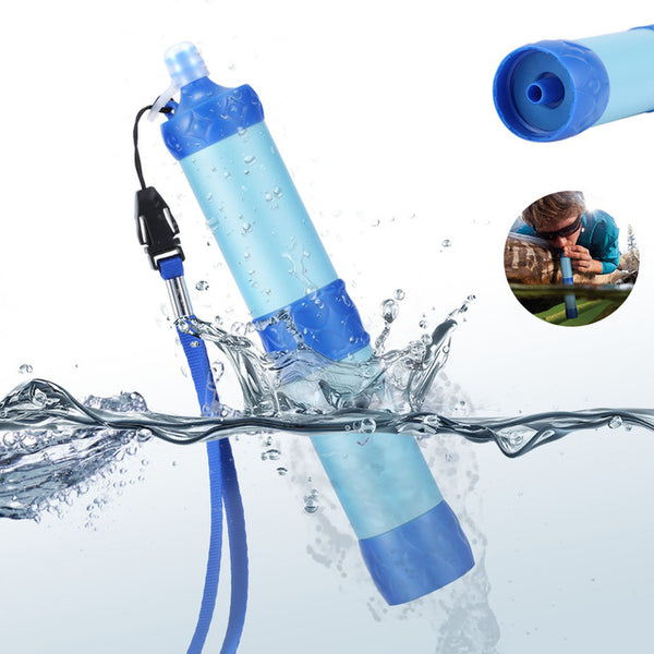 Portable Water Emergency Camping Hiking Pressure Outdoor Purifier Wild Drinking Survival Kit Water Filter B2Cshop