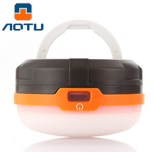 Multifunction Outdoor Camping Lights Portable LED Flashlight Lamp Battery Supply USB Charge Emergency Light Tent Camp Lantern