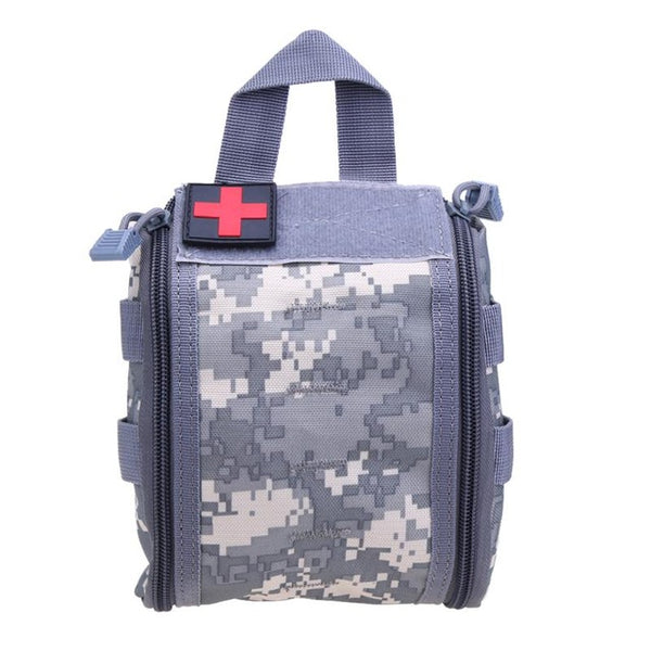 Tactical Molle Survival First Aid Kit Bag Game Outdoor Survival Gear Camping Hiking Medical Bag Emergency Survival Storage Case