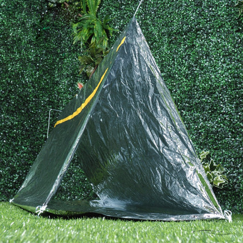 Emergency Waterproof Survival Tube Tent Thermal Reflective Cold Weather Shelters