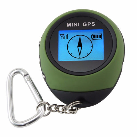 Mini Digital GPS Receiver Outdoor and Location Finder Navigator + 24 POI Memory Sport Hiking Camping Biking Travel