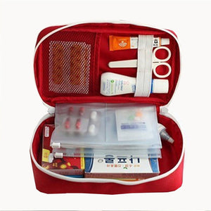 Portable First Aid Emergency Medical Kit Survival Bag Medicine Storage Bag For Travel Outdoor Sport Camping Home Medical Tool ZM