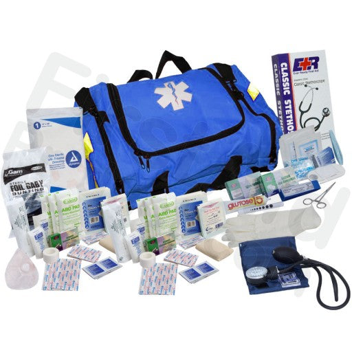 151 Piece First Responder Kit - Blue