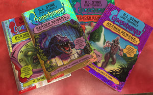 Goosebumps R. L. Stine Scary Book LOT 4