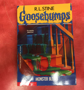 Goosebumps R. L. Stine Scary Book Issue 3