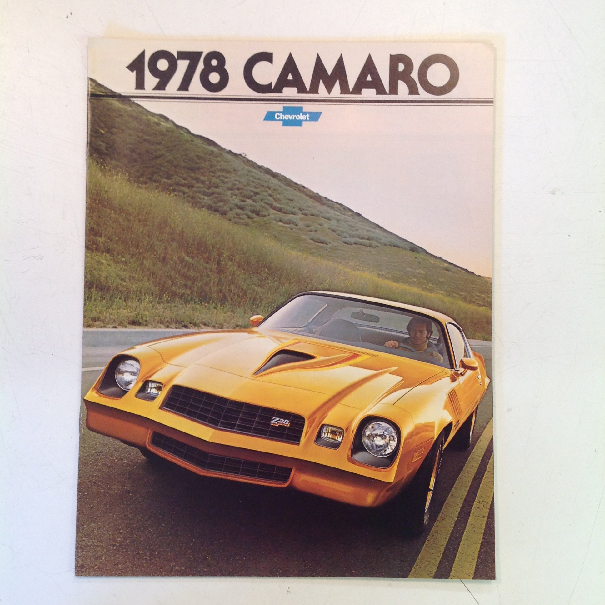 Vintage 1977 Chevrolet 1978 Camaro Informational Sales Brochure Rally LT Coupe Z