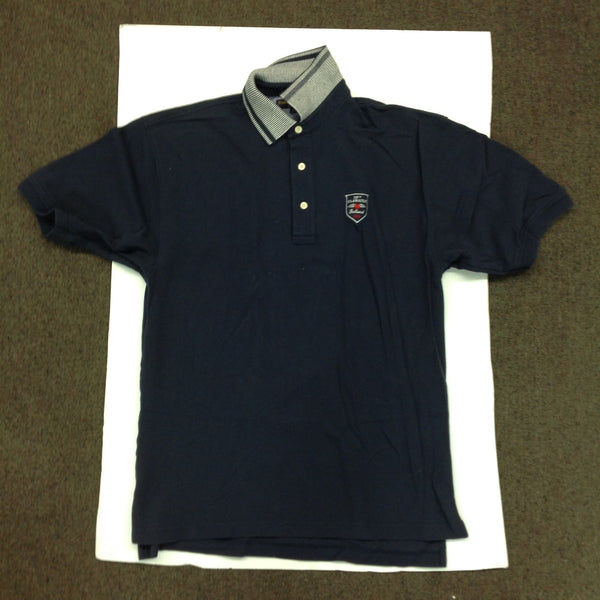 Vintage Authentic Tommy Hilfiger 100th US Amateur Baltusrol Navy Blue Cotton Men's Medium Golf Shirt