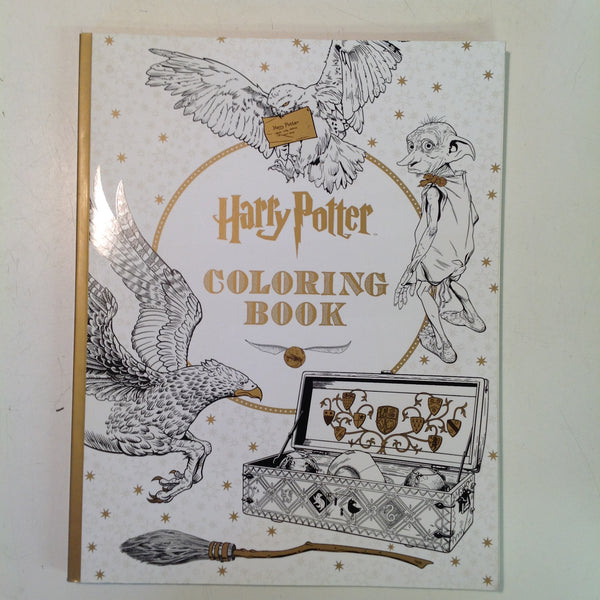 2015 Scholastic/Insight Editions Trade Paperback Harry Potter Coloring Book