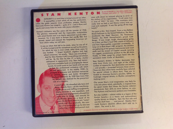 Vintage Stan Kenton & Orchestra 7-Piece 45 Record Box Set Artistry in Motion