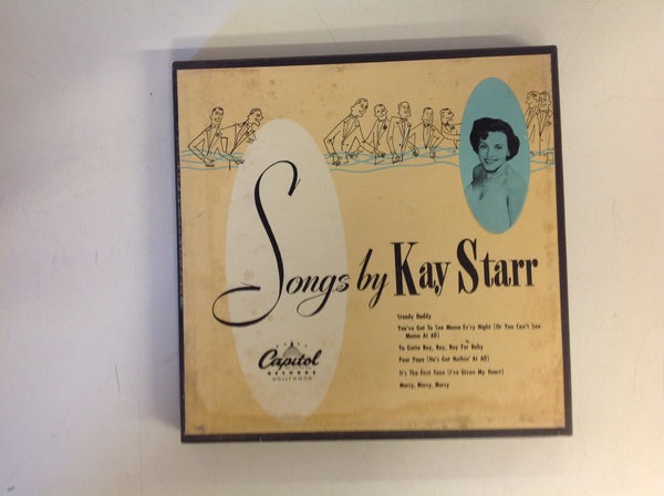 "Vintage Capitol Records 5-Piece 45 RPM Box Set ""Songs By Kay Starr"""