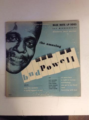 Vintage The Amazing Bud Powell Blue Note LP 33 1/3 Microgroove Modern Jazz Series