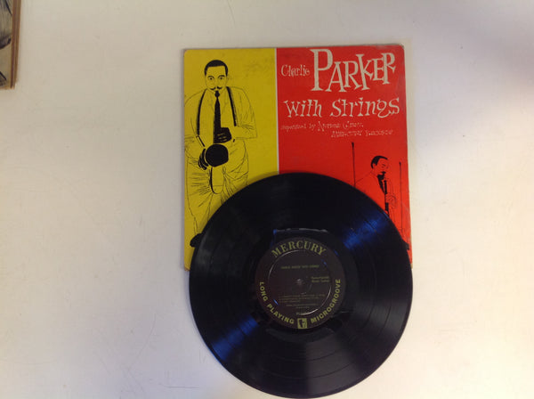 Vintage Charlie Parker With Strings Mercury Records LP MGC-501