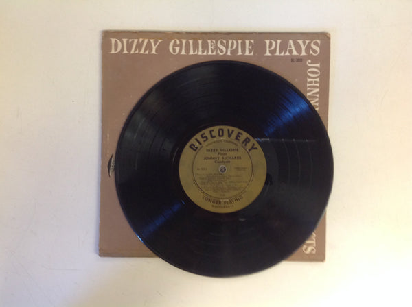 Vintage Dizzy Gillespie Plays Johnny Richards Conducts Discovery Records DL-3013