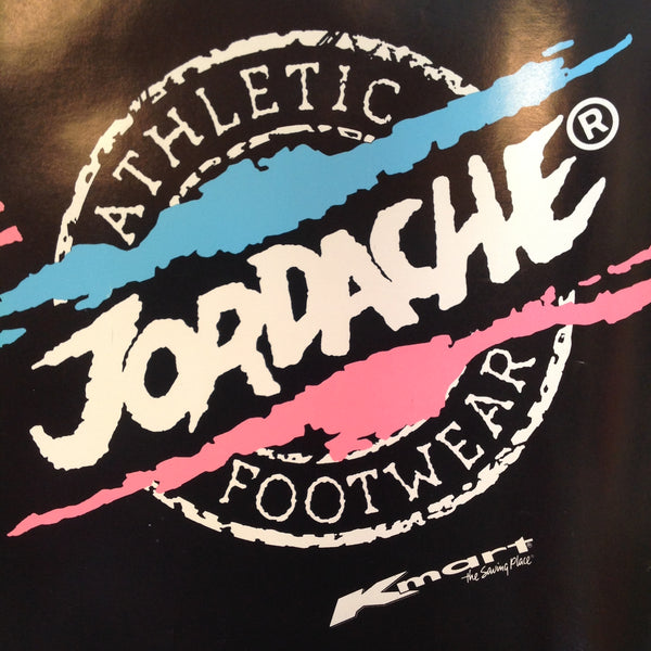 Vintage Jordache Athletic Footwear/K-Mart Student Fold-Up Book Jacket