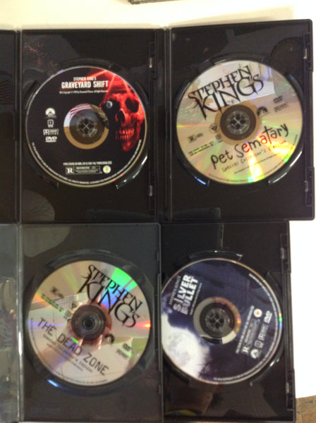 Vintage Stephen King 4-Disc/4-Movie DVD Collection