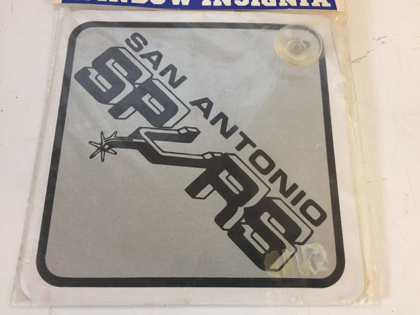 Vintage NOS 1990's San Antonio SPURS NBA Team Window Insignia