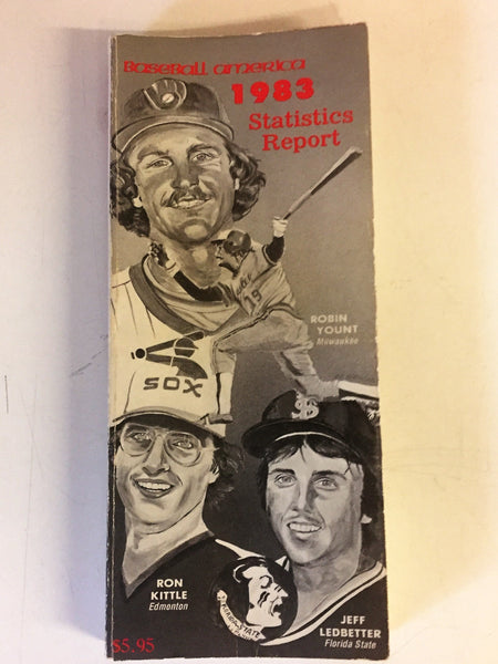 Vintage 1983 Baseball America Statistics Report MLB College Guide