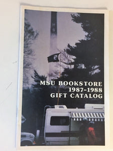 Vintage MSU Bookstore 1987 - 1988 Gift Catalog Michigan State University