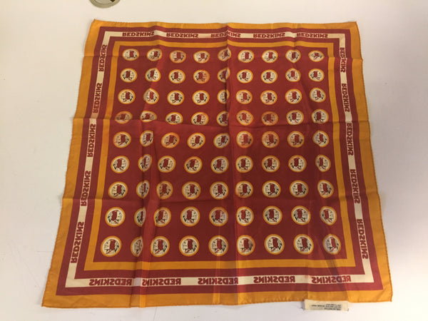 Vintage Washington Redskins Ladies Scarf Football NFL Sports Fan