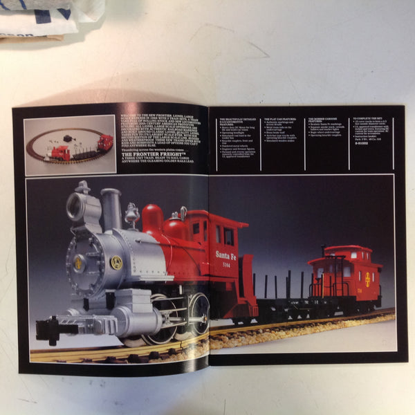 Vintage 1988 LIONEL Large Scale Electric Trains & Accessories Booklet