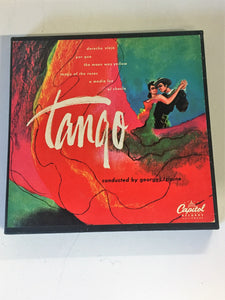 Vintage TANGO Box Set 45's Georges Tzipine Capital Records