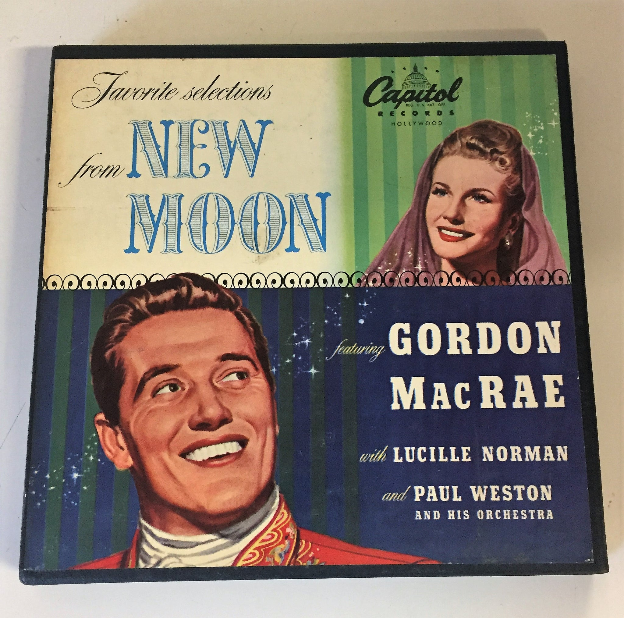 Vintage Favorite Selections From NEW MOON Gordon Mac Rae & Lucille Norman