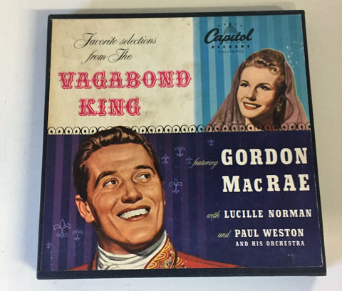 Copy of Vintage Favorite Selections From Vagabond King Gordon Mac Rae & Lucille Norman