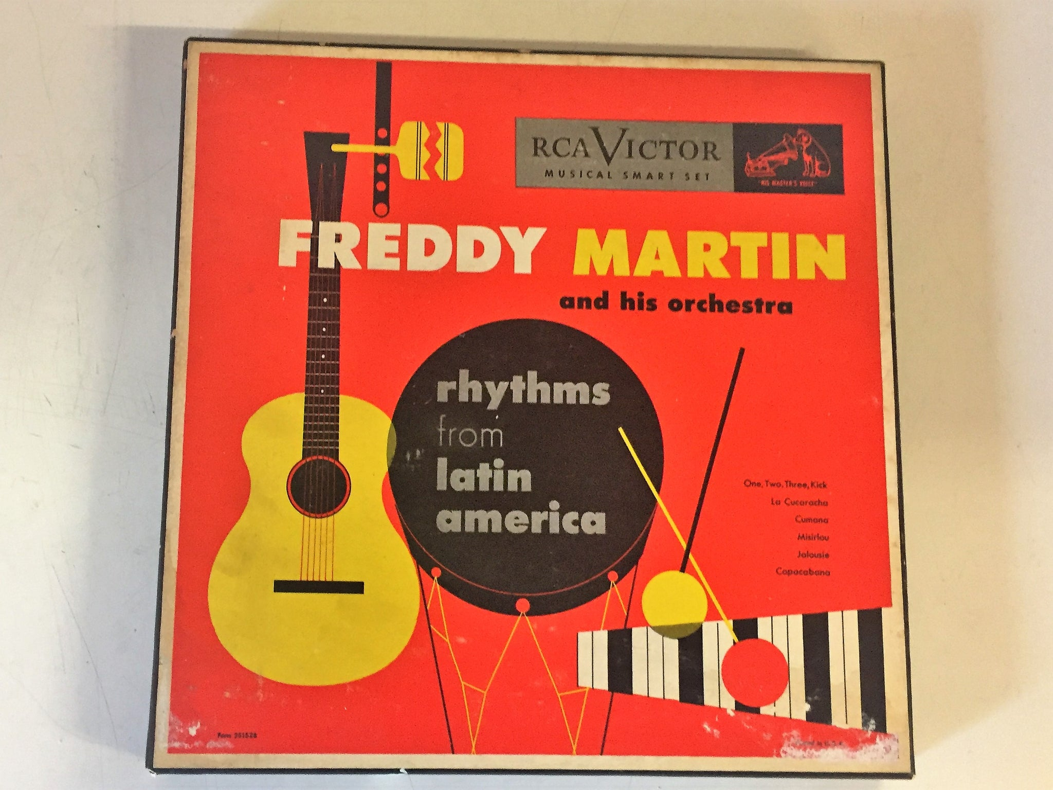 Vintage Freddy Martin And His Orchestra Rhythms From Latin America 45 RPM Box Set