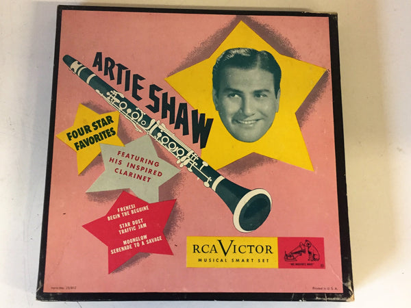 Vintage ARTIE SHAW 45 RPM Box Set RCA Victor Musical Smart Set