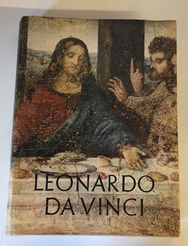 Vintage 1956 Leonardo Da Vinci Coffee Table Book Large By Reynal & Company