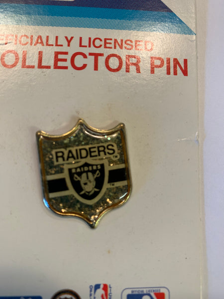 Vintage 1990's Oakland Raiders Lapel Pin NFL Sports Football