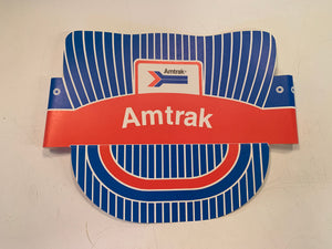 Vintage 1970's Child's Paper Amtrak Train Engineer's Railroad Cap