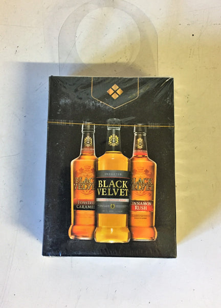 Cool Black Velvet Liquor Advertising Playing Cards NOS Sealed