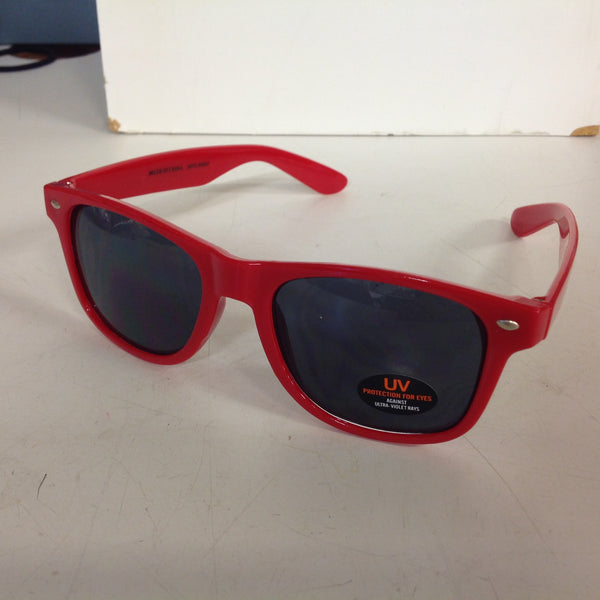 Souvenir Authentic Black Velvet Cinnamon Rush Hot Red Sunglasses