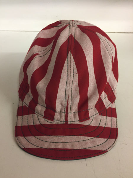 Copy of Vintage Red & White Stripe Landry's Cap Welder's Hat Retro