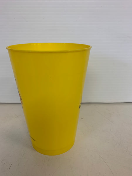 Vintage 1970's McDonald's Captain Crook Yellow Plastic Drink Cup