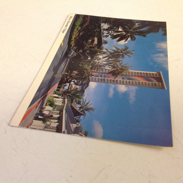 Vintage Hilton Hawaiian Village Color Postcard