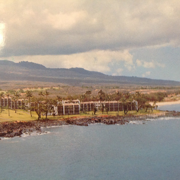 Vintage 1977 Color Postcard Hotel Inter-Continental Maui Hawaii