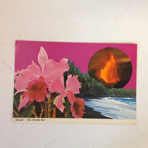 Vintage Color Postcard Hawaii The Orchid Isle The Big Island