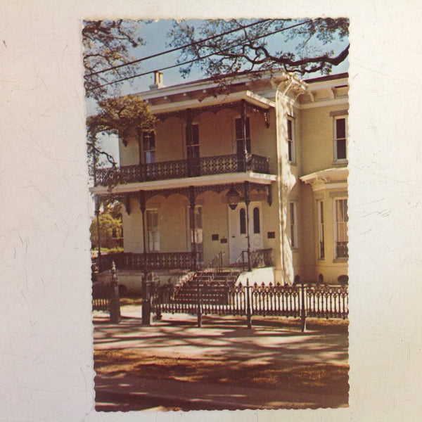 Vintage Color Postcard Exterior Museum of the City of Mobile Alabama Deep South Card