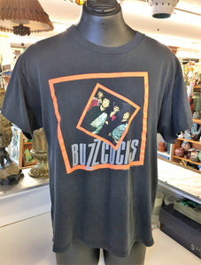 Vintage 1989 BUZZCOCKS Friends Telling US Tour Concert Shirt Sz M
