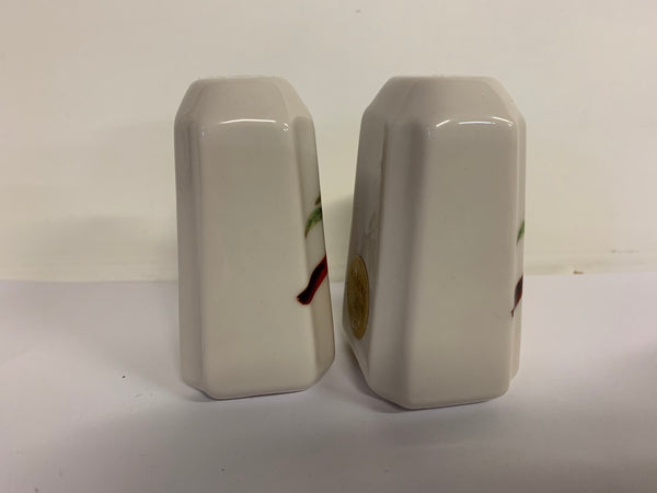 Vintage Souvenir Fricke Porcelain Columbus Ohio Salt and Pepper Shaker Set